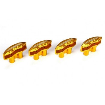 Тормозные суппорта, алюминий (золотой, 4шт): V100 - VTR332006