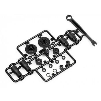Набор деталей: адаптер крепления спура|чашки приводов - HPI-100852