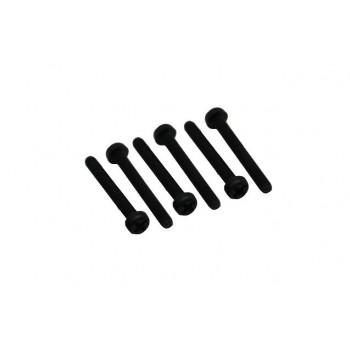 Болт нейлоновый 3мм длиной 20мм (6шт) - SCR-032