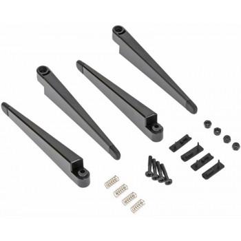 Стойки шаcси с винтами, гайками и защитными резинками (4 комплекта) - XIRO-SKIDS