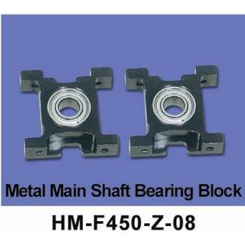 Блок металлических подшипников внешнего вала Walkera - HM-F450-Z-08