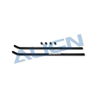 Трубки посадочных шасси (черные): T-Rex 700N - HN7049T