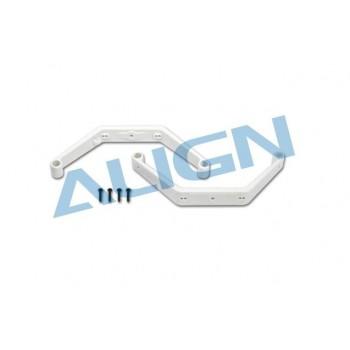 Стойки посадочных шасси, белые, T-Rex 450 Sport V2 - HS1293AT